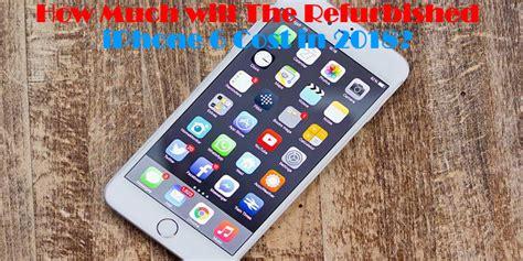 refurbished iphone  cost