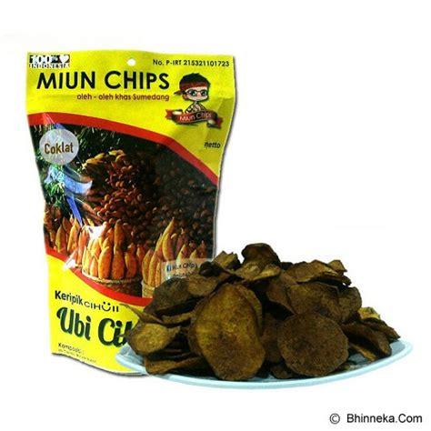 Keripik Talas 500 Gr jual miun chips ubi cilembu rasa coklat 70gr murah bhinneka