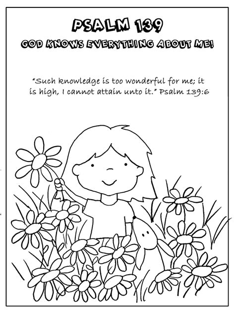 god knows me free coloring pages