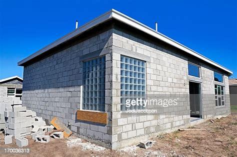 concrete block construction  stucco series high res
