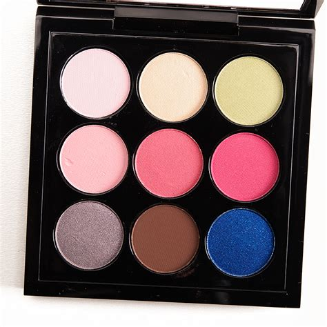 Review Eyeshadow Viva Pink mac flamingo park eyeshadow palette review photos swatches
