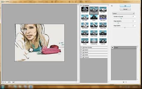 membuat foto menjadi kartun photoshop cs4 semua tentang desain grafis efek foto kartun dengan