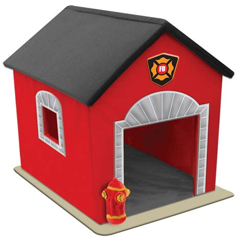 fire dog house fire house dog bed baxterboo