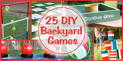 diy games remodelaholic 25 diy backyard games