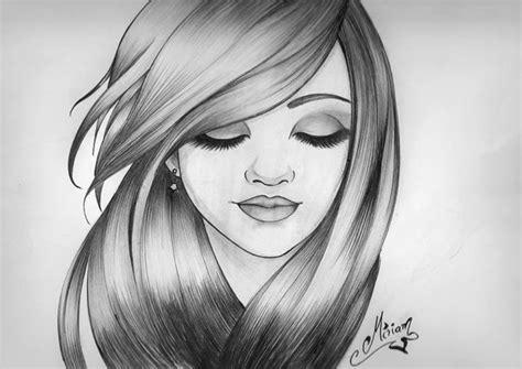 imagenes para dibujar a lapiz de personas chica a lapiz by miriart014 on deviantart