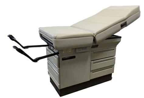 ritter midmark 404 medical exam table w stirrups ebay