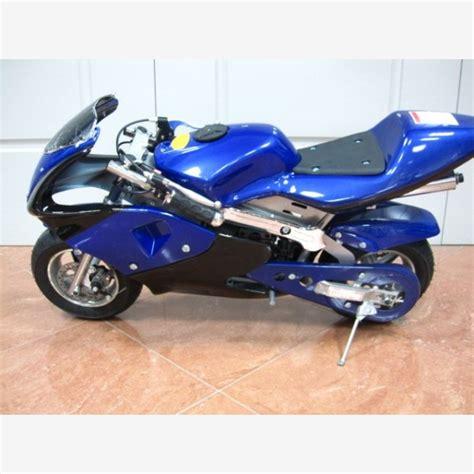 blue motor pin mini moto midi derbi senda 50 yamaha big jog