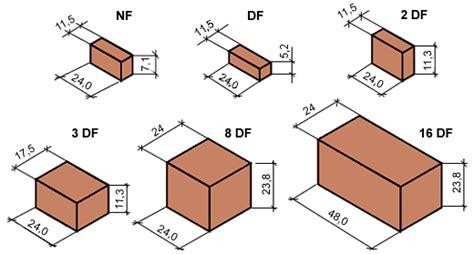 Beton Mauersteine Formate by Steinformate Mauersteinen Und Plansteinen Steine Und