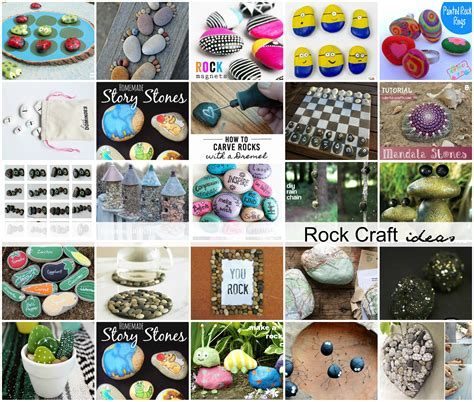 crafts rock rock craft ideas the idea room