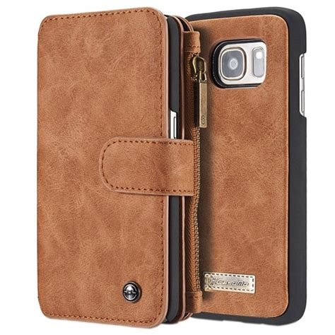 samsung galaxy s6 caseme multifunctional wallet leather