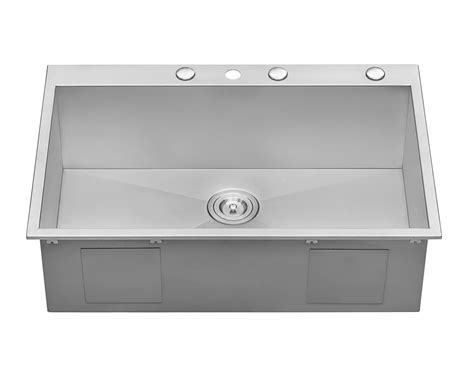 16 Stainless Steel Kitchen Sink Top Mount Home Kitchen
