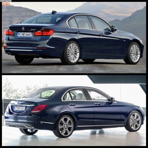 Bmw 3 Series 2019 Vs Mercedes C Class by 2017 Bmw 3 Series Vs 2017 Mercedes C Class The