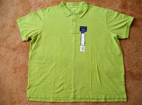 Big Size Xxxl Polo Shirt Footjoy mens golf pique polo shirt top falls creek tagless green size xxxl 3xl nwt everything