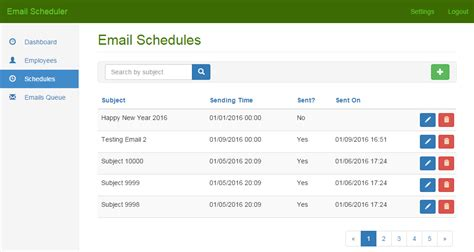email scheduler and bulk email sender net codecanyon