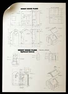 wendy houses building plans house list disign