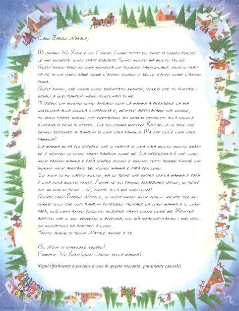 lettere di babbo natale ai bambini lettera di babbo natale ai bambini sweetangelgifts