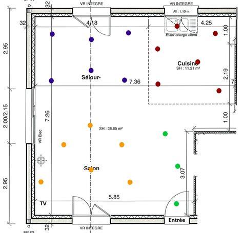 Comment Installer Des Spots Encastrables Au Plafond by Sch 233 Ma 233 Lectrique Choix De Spots Encastr 233 S 13 Messages