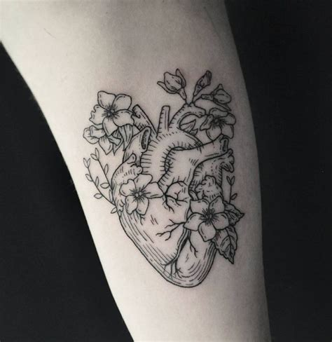 human heart tattoo 17 best ideas about anatomical tattoos on