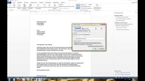 Brief Word Samenvoegen Adressen Excel Word 2010 2013 Serienbrief Erstellen Mit Excel Datenquelle Tutorial