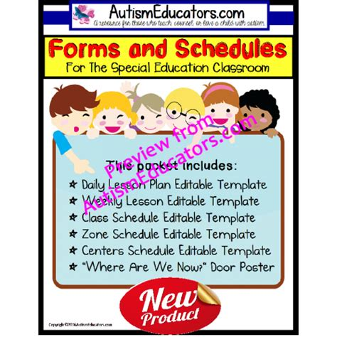 special education schedule template special education schedule template schedule template free