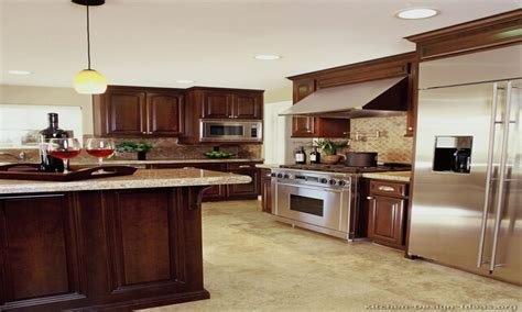 Color Granite Countertops Kitchen Colors With Dark Cherry