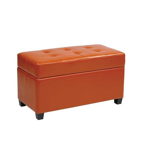 home depot storage ottoman foot stool the home depot