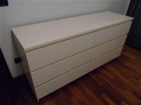 cassettiera malm 6 cassetti vendo cassettiera ikea malm con 6 cassetti colore bianco