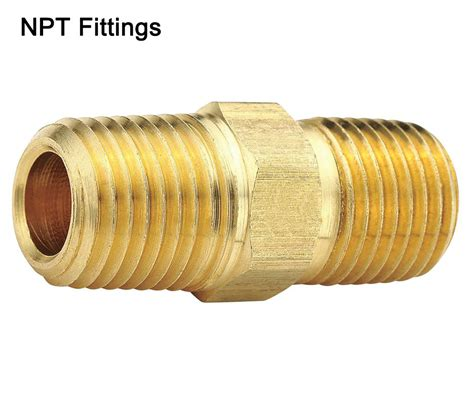3 4 Plumbing Pipe by 3 4 Quot X 3 4 Quot Hex Brass Pipe Fitting Thread