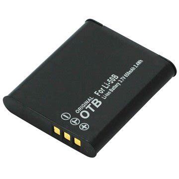 Baterai Olympus Li 50b Pentax D Li92 Ricoh Db 100 olympus li 50b pentax d li92 ricoh db 100 batteri 650mah