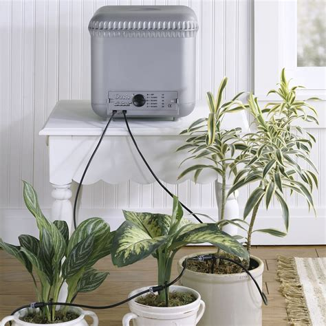 the automatic plant watering system hammacher schlemmer
