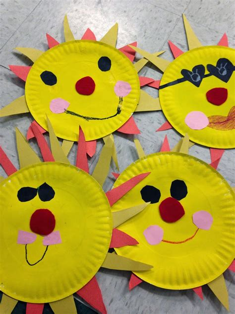 pattern art activities for preschoolers easy sun craft great for end of year 1st grade