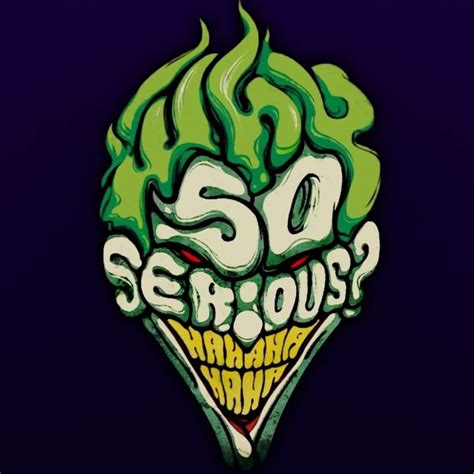 tattoo joker why so serious green ink why so serious joker tattoo design image