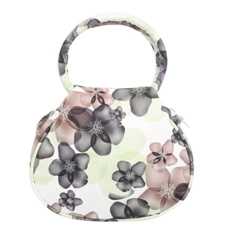 Secret Flower Totebag Looks Like Original floral print er handbags leather and 50 similar items