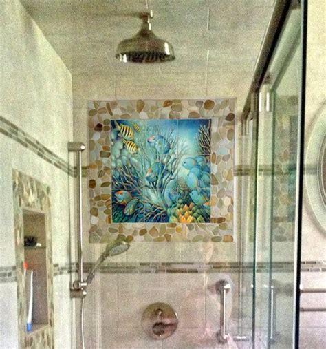 bathroom tile murals bathroom shower tile mural