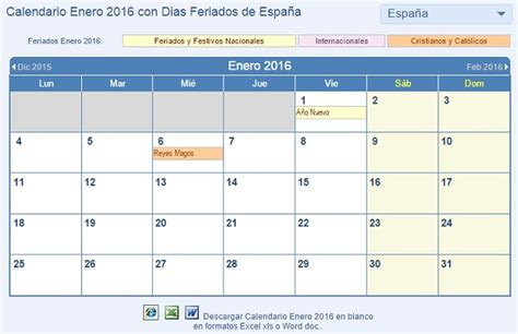 Calendario Diciembre 2017 Word Calendario 2016 Para Imprimir Descarga M 225 S De 100