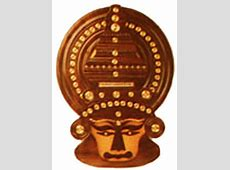 Crafts of Kerala Rosewood - Kathakali Head Indian Handicrafts Indian Fashion For Kids
