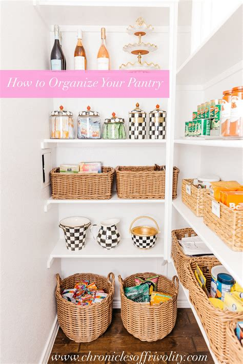 how to organize your kitchen pantry alyson haley