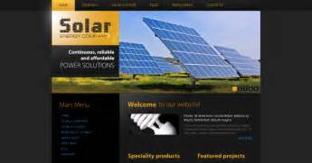 website ideas solar energy business web design ideas online marketing consultant