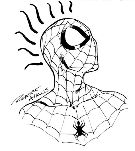 spiderman head coloring page spiderman drawing pictures az coloring pages