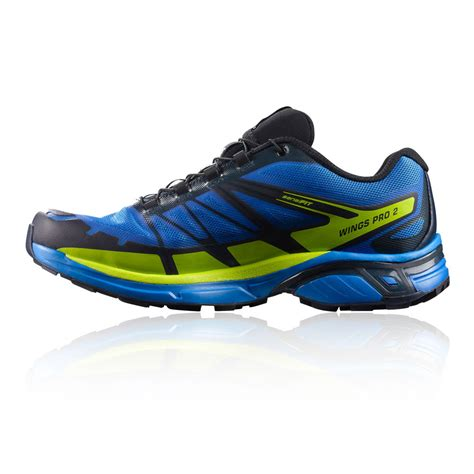 running shoes with wings salomon wings pro 2 tex trail running shoes ss17