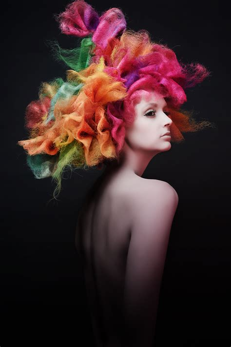 American Hairstyling Awards by American Hairstyling Awards Naha Colourful Hair