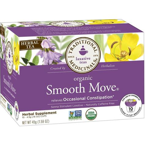 Traditional Medicinals Detox Tea Side Effects by Smooth Move Tea Weight Loss Dandk