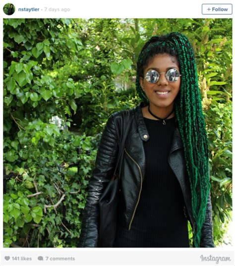 16 Stunning Photos of Colored Box Braids, the Summer