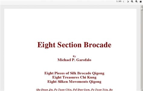 Eight Section Brocade by Eight Pieces Brocade Pearltrees