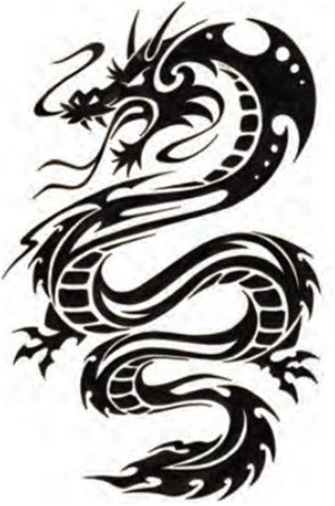 cool tribal draak tattooforaweek tijdelijke tattoos