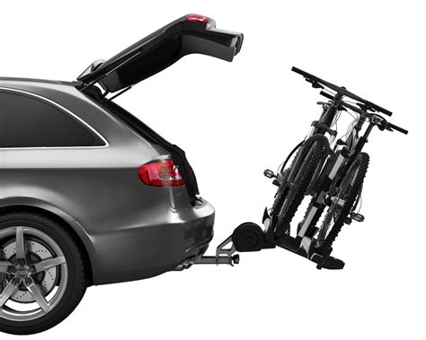 Thule 2 Bike Platform Hitch Rack thule 9034 t2 pro platform style hitch bike rack for 2