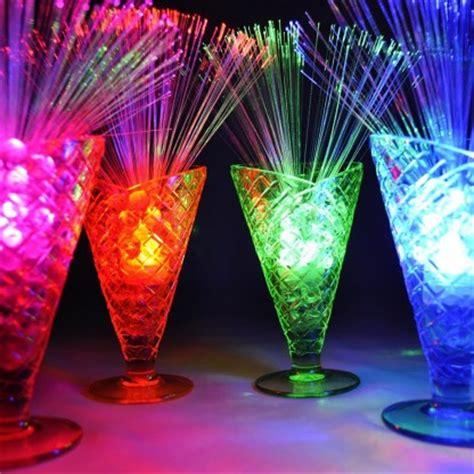 sparkly decorations sparkle lites fibre optic table decorations