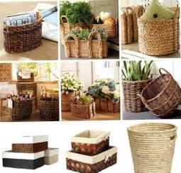 basket home decor a lovely picture of wicker baskets for the family best
