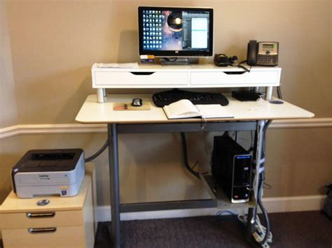 standing up desk ikea ikea standing desk home remodeling and renovation ideas