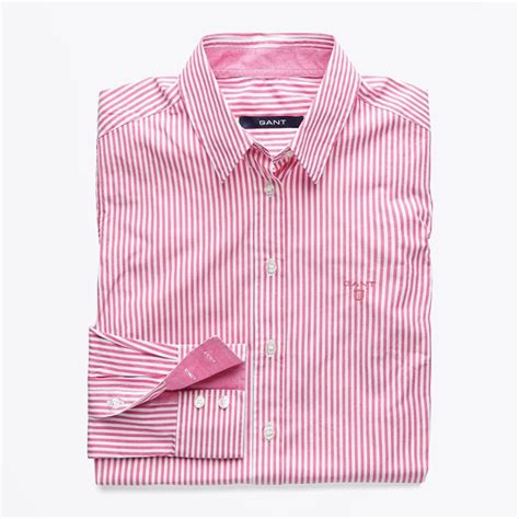 Big Stripe Pocket 2 stripe pocket front pink s shirts blouses for gant
